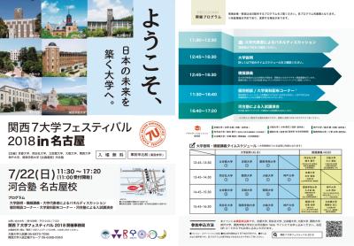 7大学フェスティバル2018
